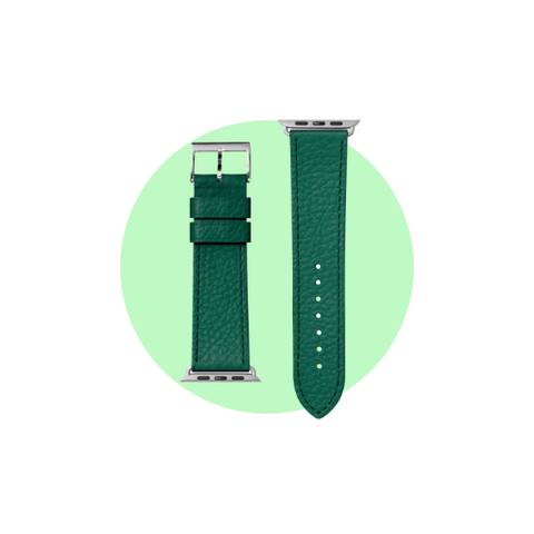 Milano Watch Strap for Apple Watch Strap Series 1-6 & SE in Color Emerald