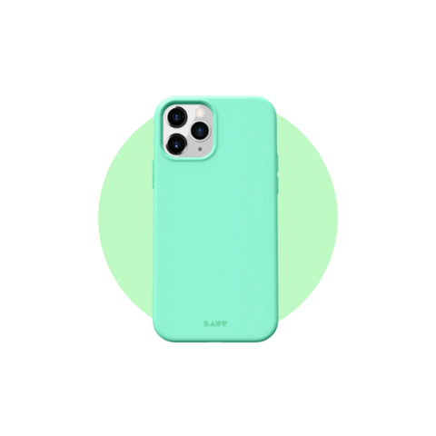 HUEX Pastels Case for iPhone 12 Series in Color Spearmint