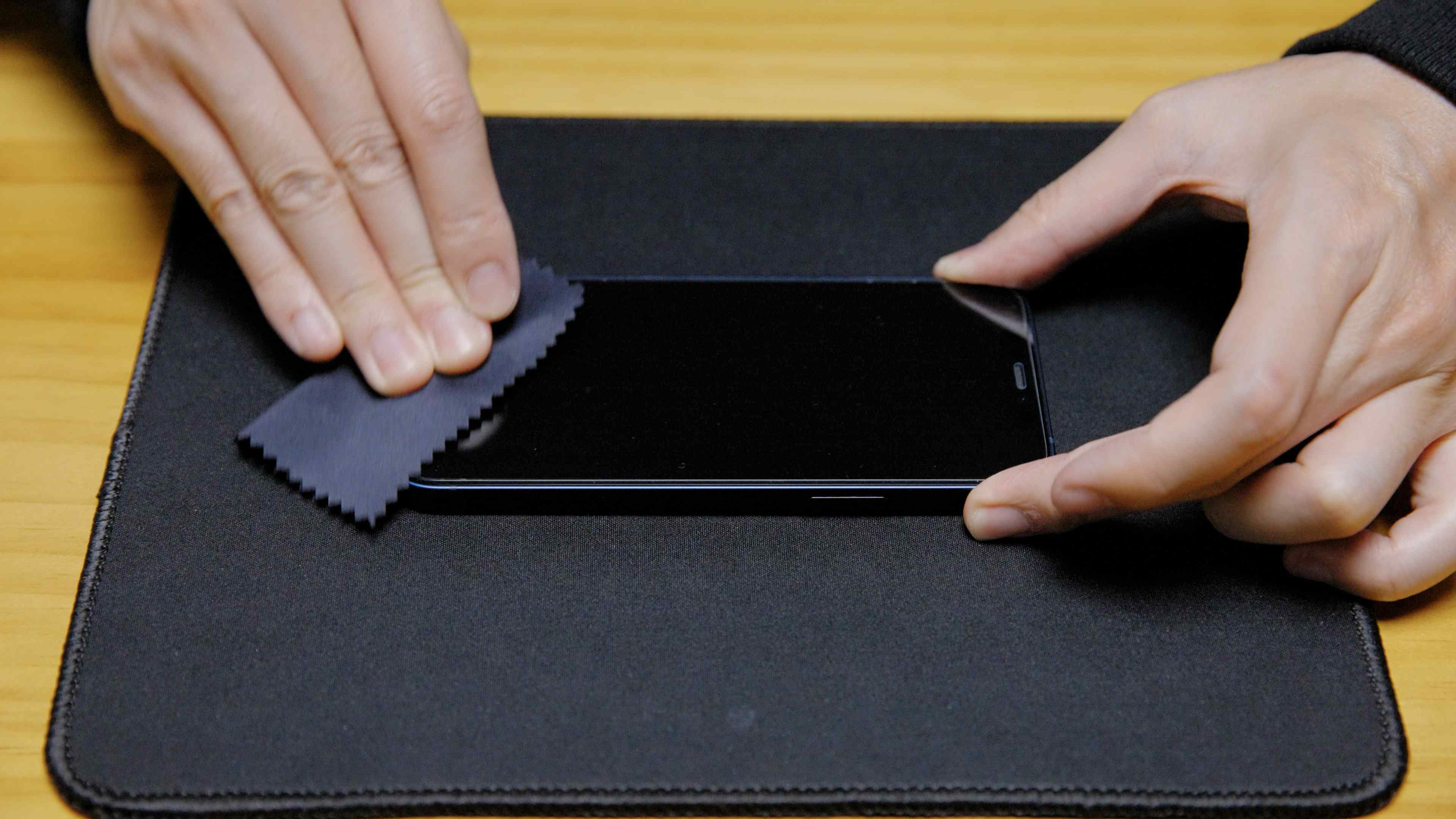 Screen Protector Installation Guide Step 5 : Final Touches