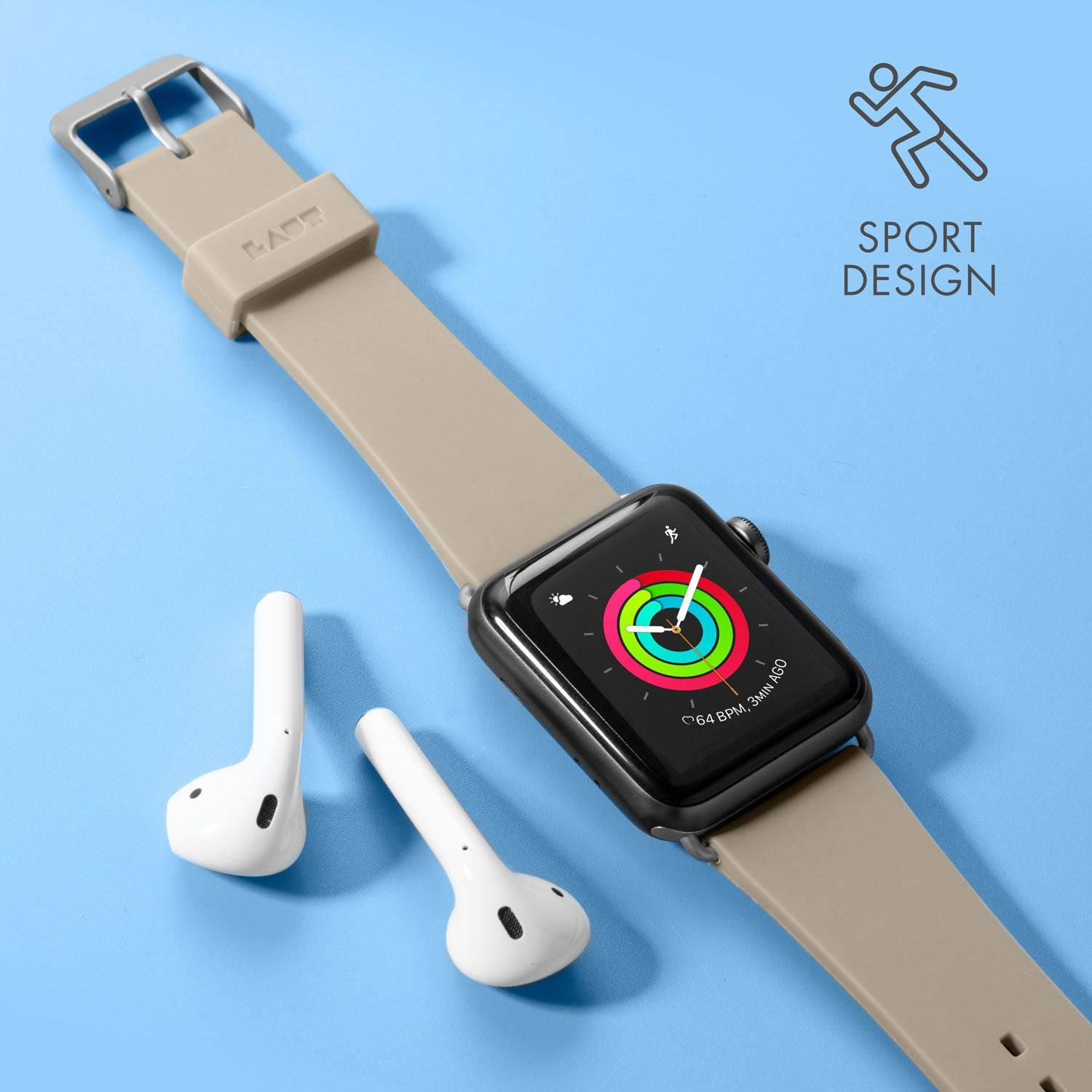 LAUT Active Watch Strap for Apple Watch