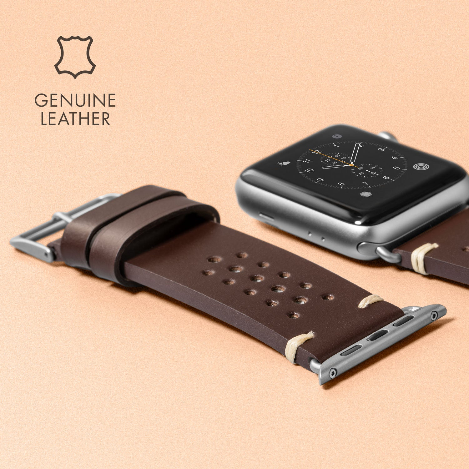 LAUT Heritage Watch Strap for Apple Watch Series 1/2/3/4/5
