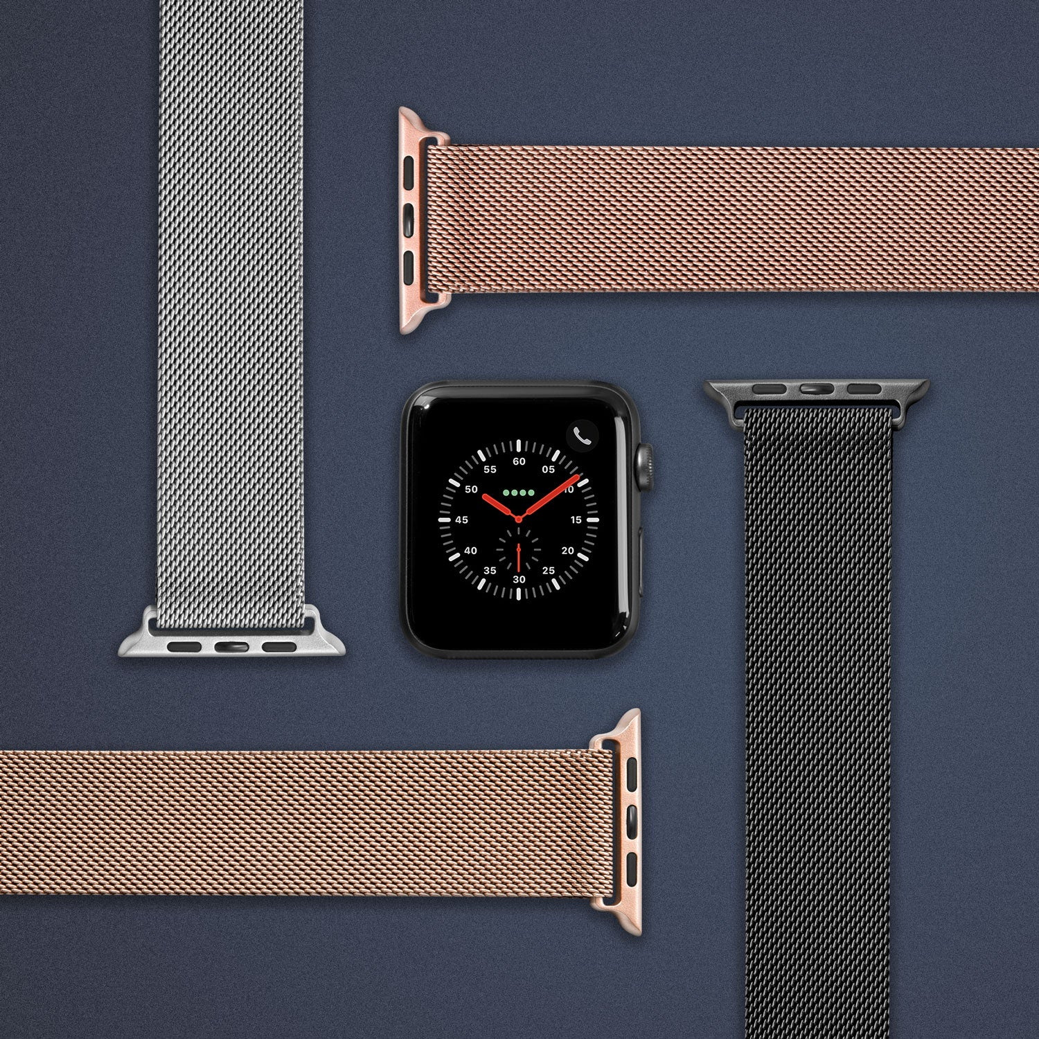LAUT Steel Loop Watch Strap for Apple Watch