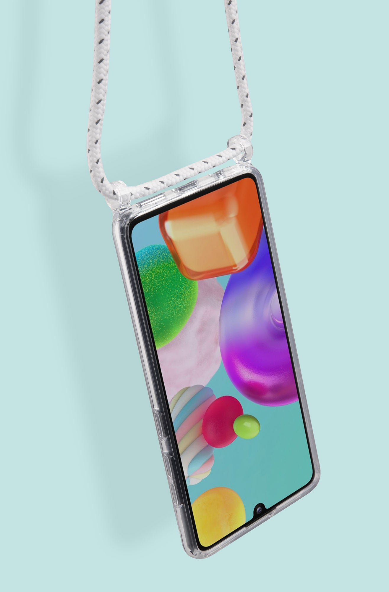 LAUT - CRYSTAL-X NECKLACE case for Galaxy (A41 / A51) International Model