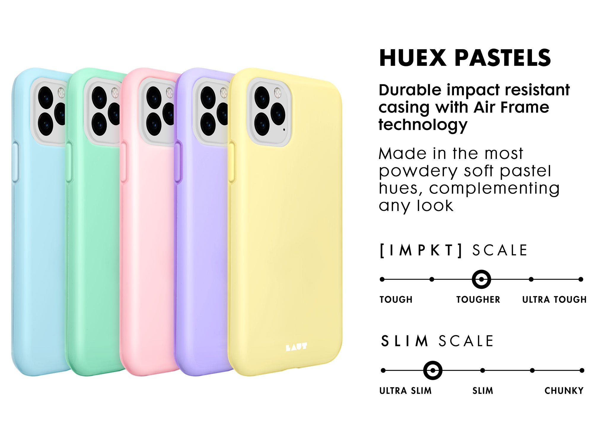 HUEX Pastels for iPhone 11 series