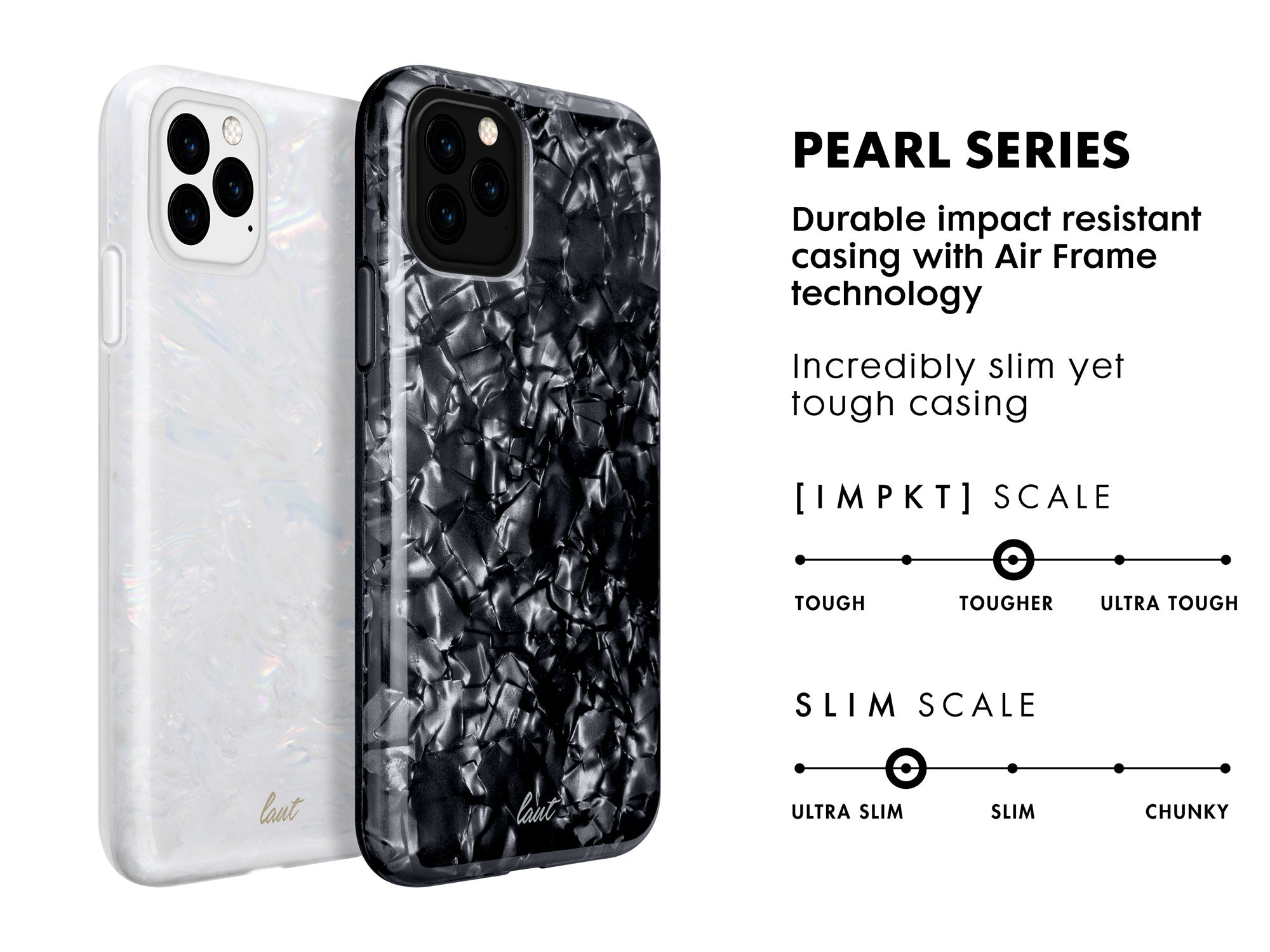 LAUT PEARL for iPhone 11   iPhone 11 Pro   iPhone 11 Pro Max