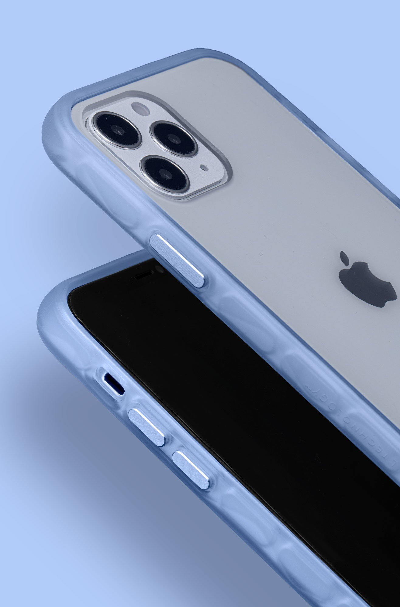 LAUT - CRYSTAL MATTER (IMPKT) - TINTED SERIES case for iPhone 12 series - MACHINED ALUMINUM BUTTONS