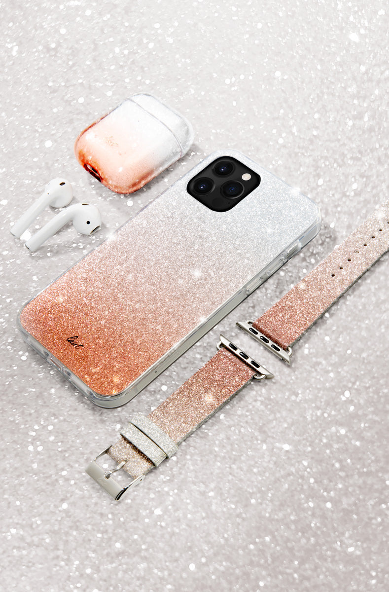 LAUT - OMBRE SPARKLE case for iPhone 12 series