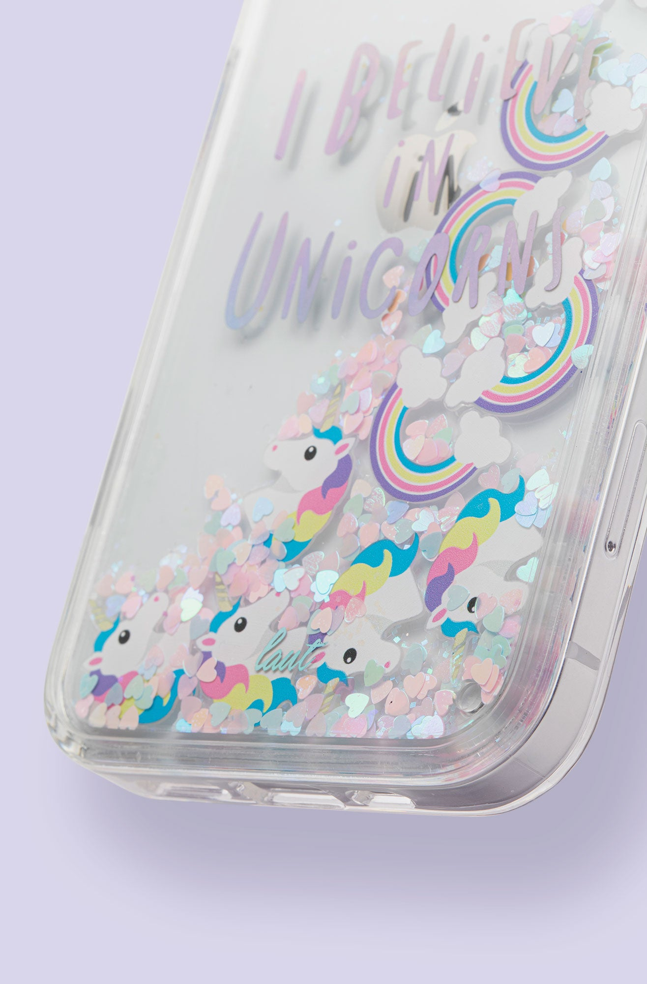 LAUT - UNICORN Liquid Glitter case for iPhone 12 series