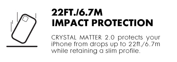 LAUT - CRYSTAL MATTER (IMPKT) 2.0 for iPhone 13 Series