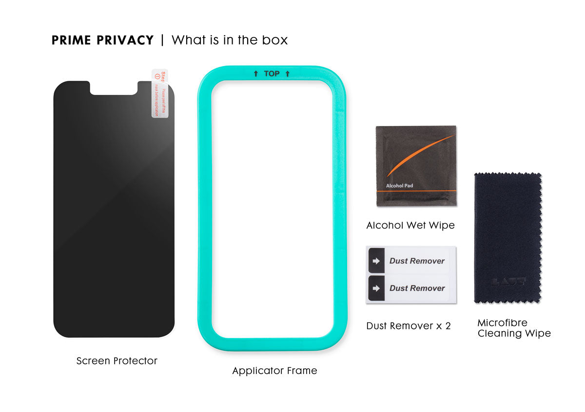 LAUT - PRIME PRIVACY Screen Protector for iPhone 13 Series