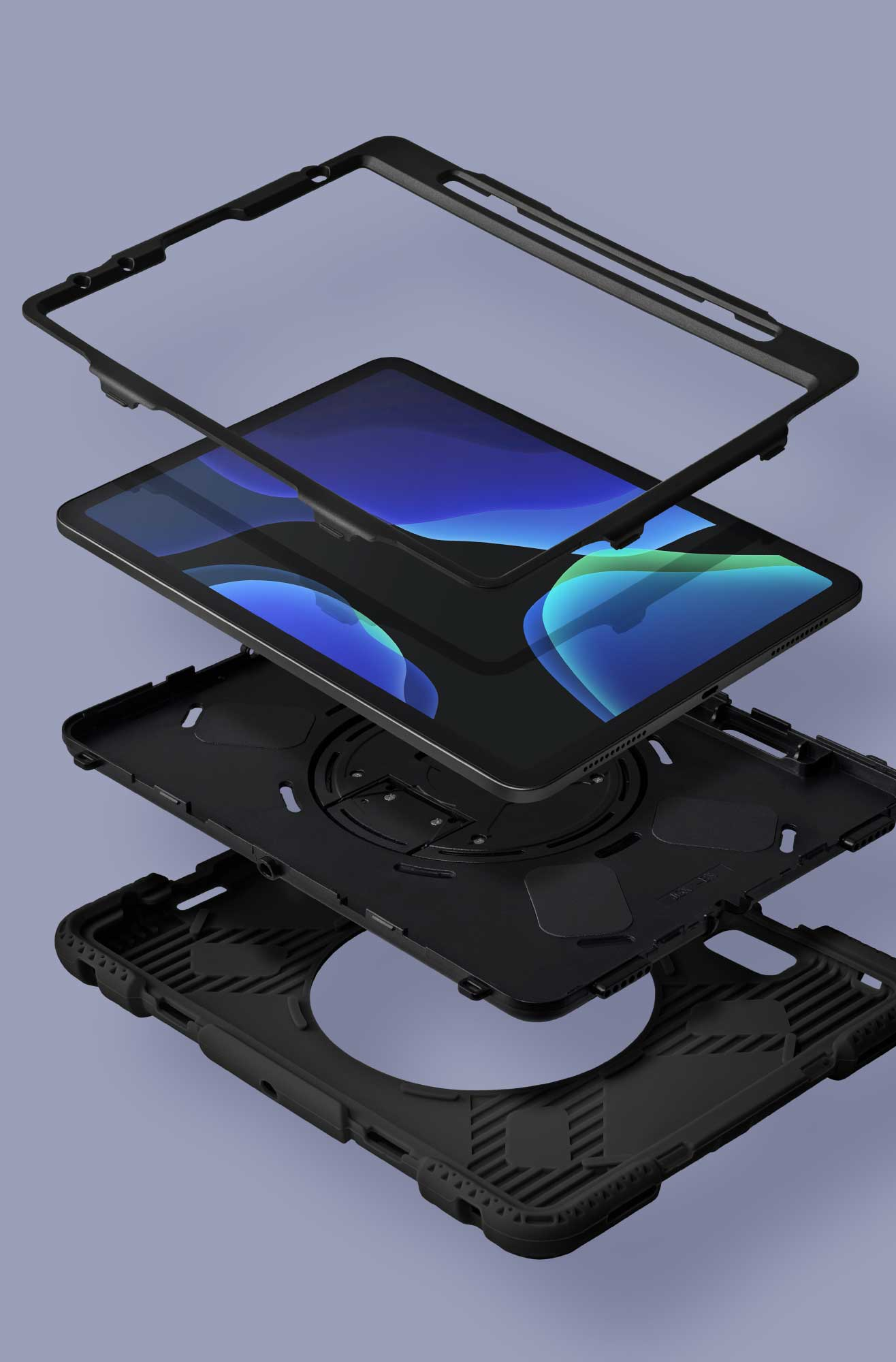 LAUT - SHIELD ENDURO case with Pencil Holder for iPad Air 10.9