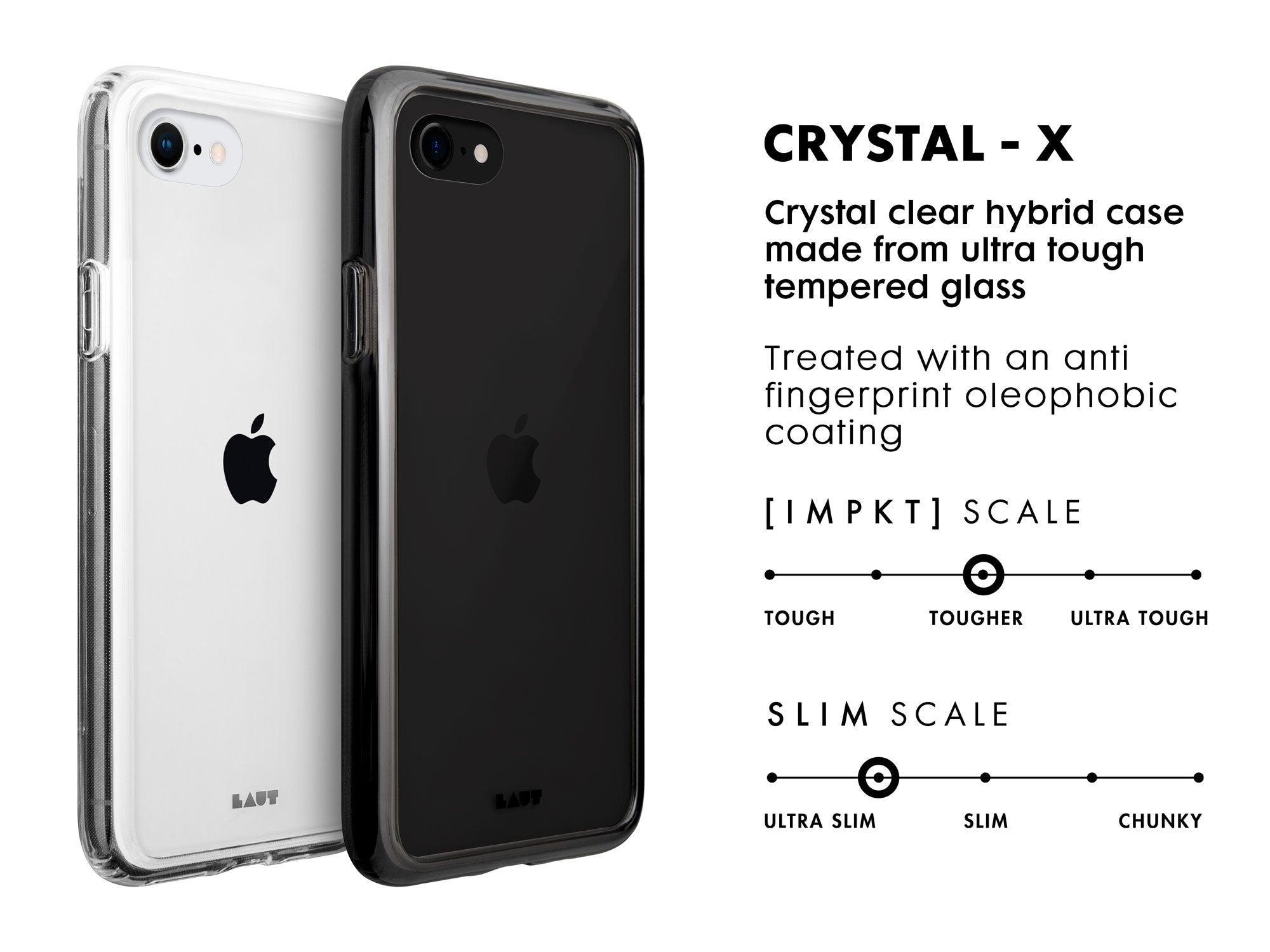 LAUT - Crystal-X for iPhone SE 2020