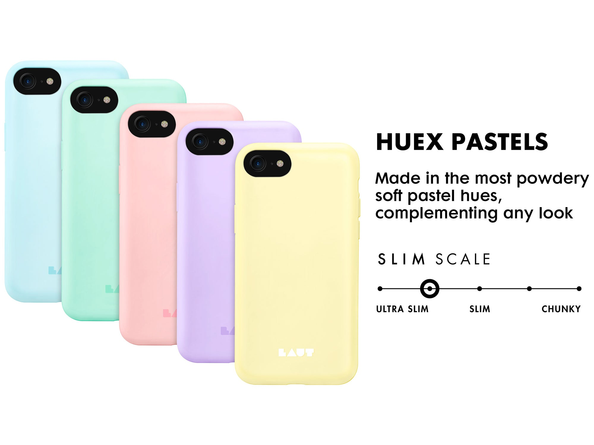 LAUT - Huex Pastels for iPhone SE 2020