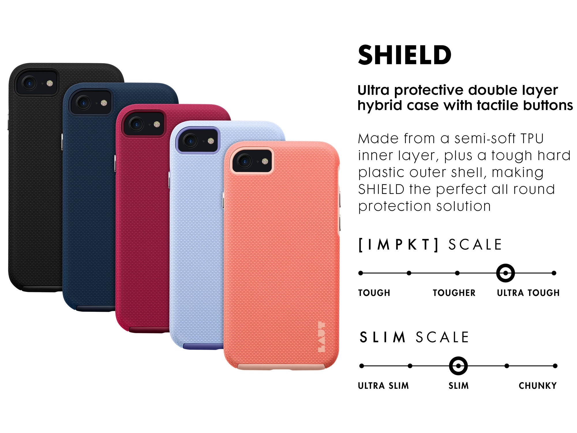 LAUT - SHIELD for iPhone SE 2020