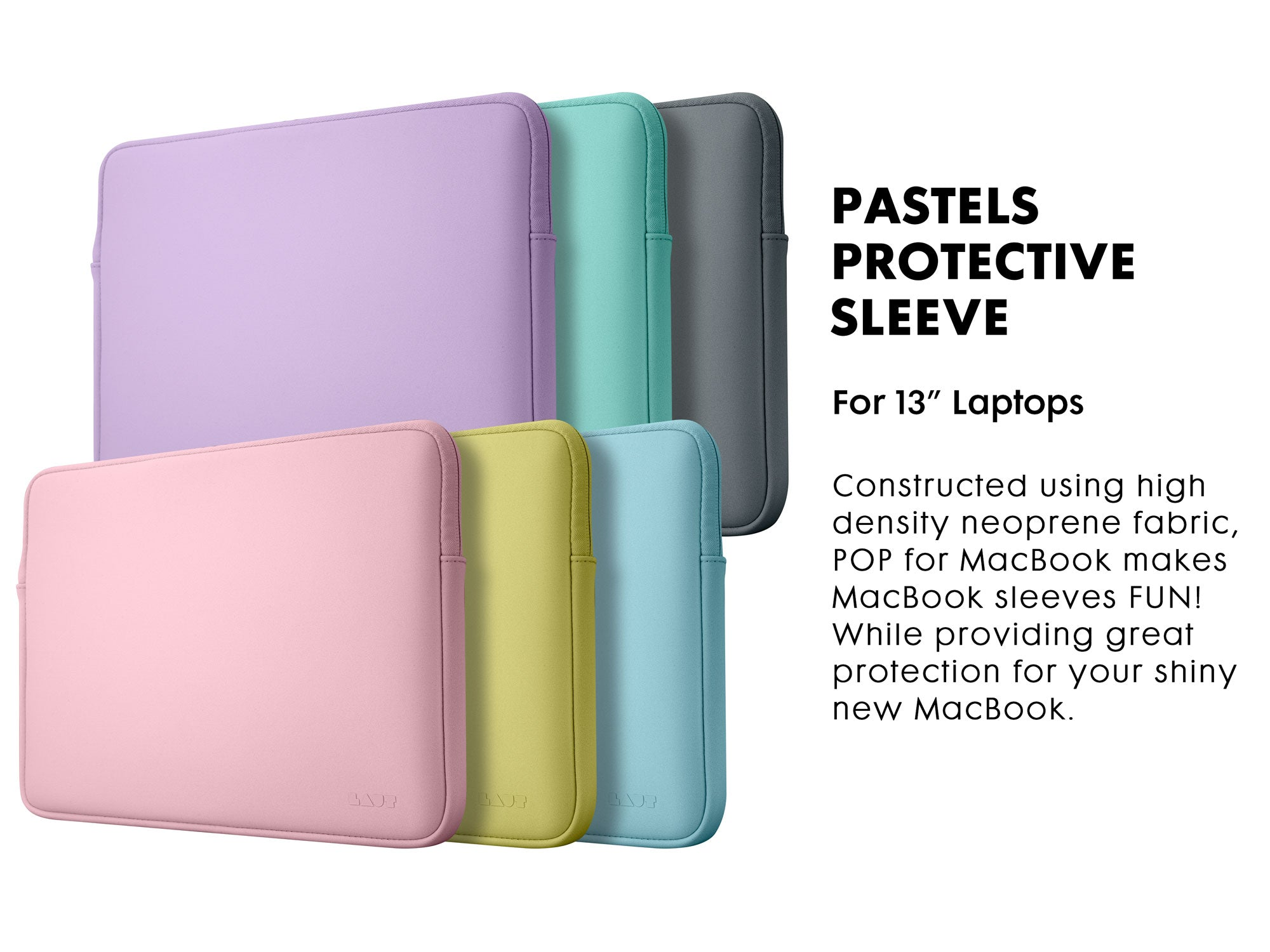 LAUT HUEX PASTELS Protective Sleeve for Macbook 13-inch