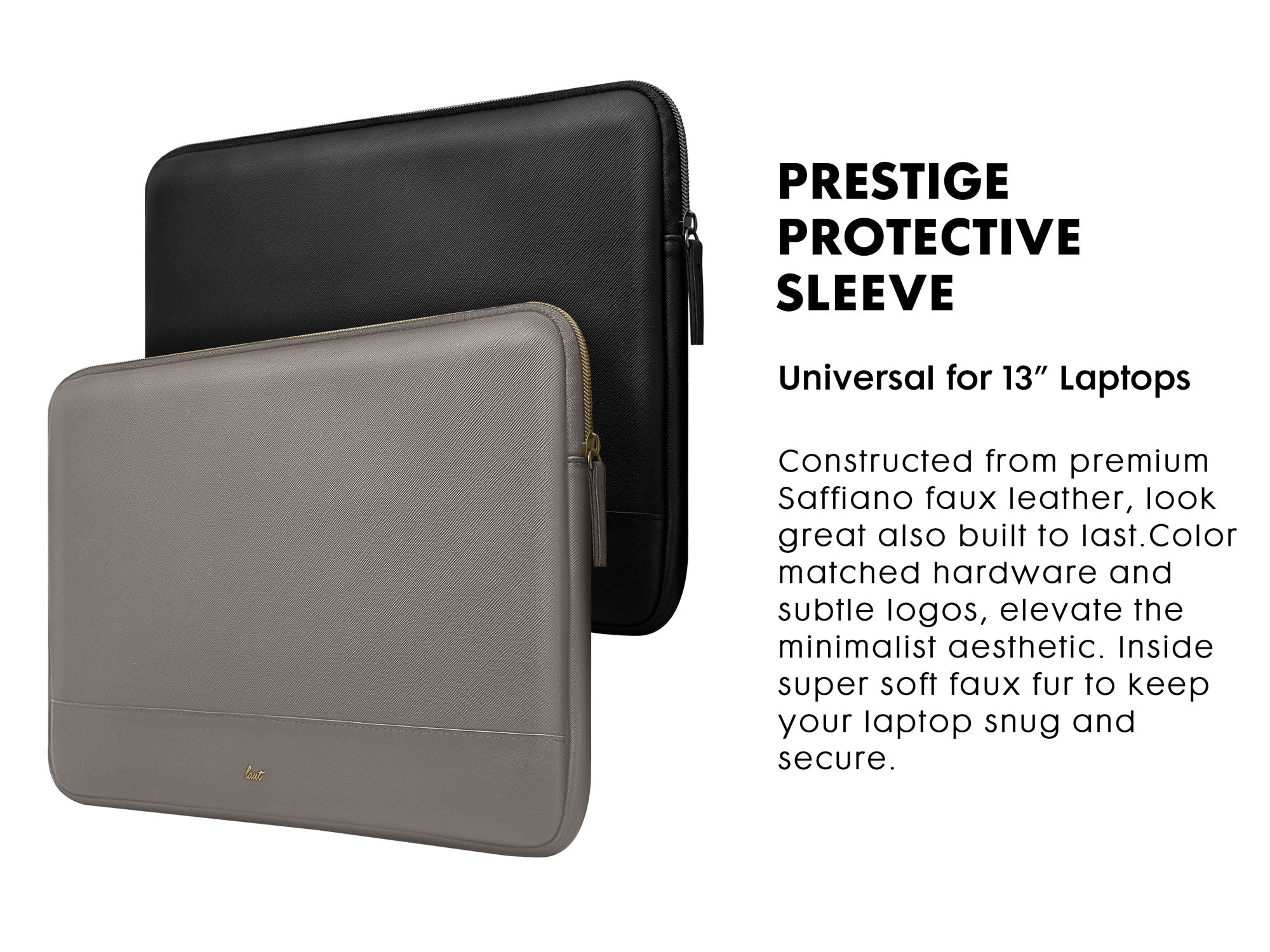 LAUT PRESTIGE Protective Sleeve for MacBook 13-inch / MacBook 16-inch