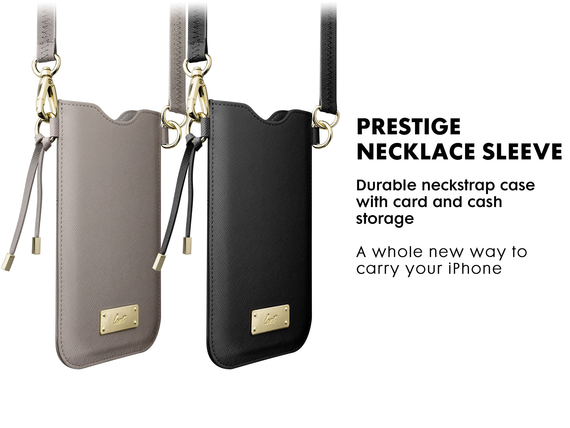 LAUT - Prestige necklace sleeve for iPhone SE 2020