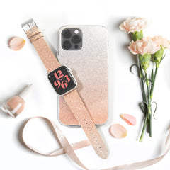 Ombre Sparkle for iPhone 12 and Apple Watch