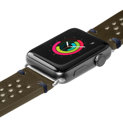 LAUT-Heritage Watch Strap for Apple Watch Series 1/2/3/4-Watch Strap-For Apple Watch Series 1/2/3/4