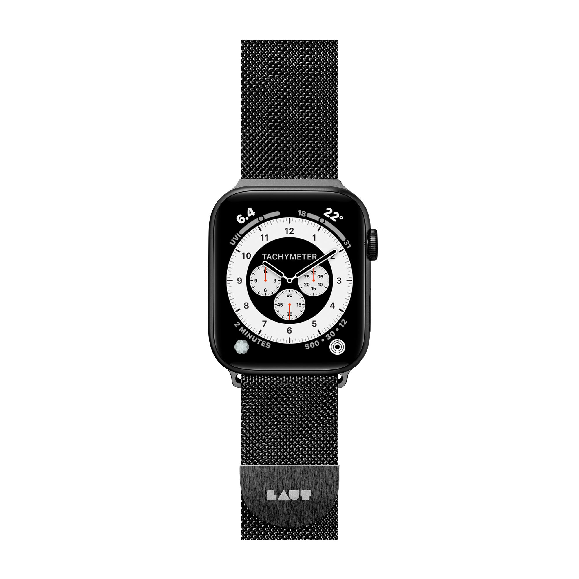 f04bca55e Steel Loop Watch Strap for Apple Watch Series 1/2/3/4  Stainless Steel -  LAUT USA