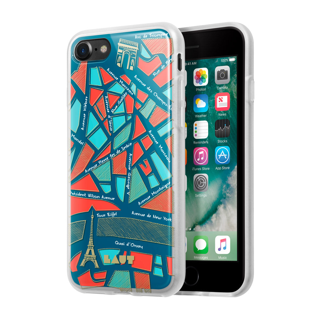 LAUT-NOMAD Paris-Case-For iPhone 8