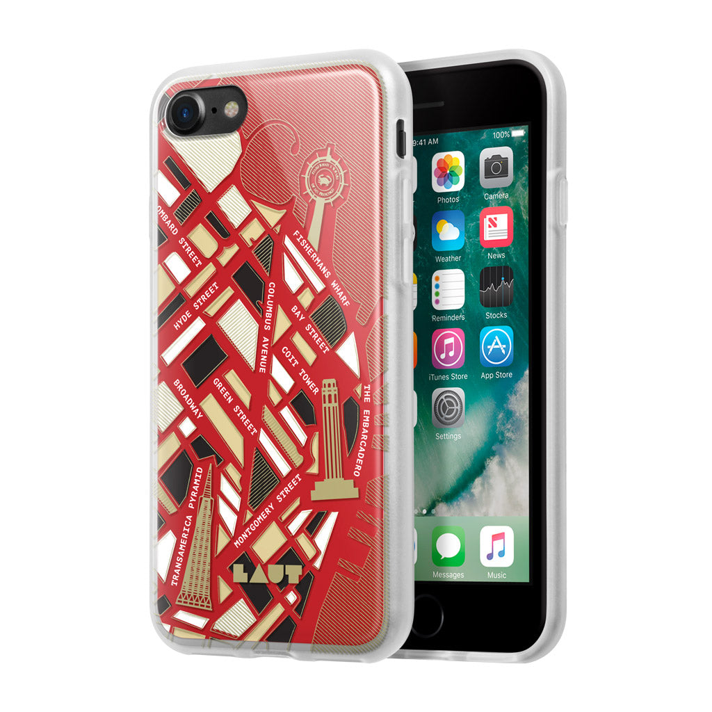 LAUT-NOMAD San Francisco-Case-For iPhone 8