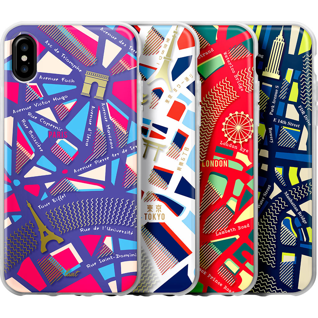 LAUT-NOMAD for iPhone X-Case-For iPhone X