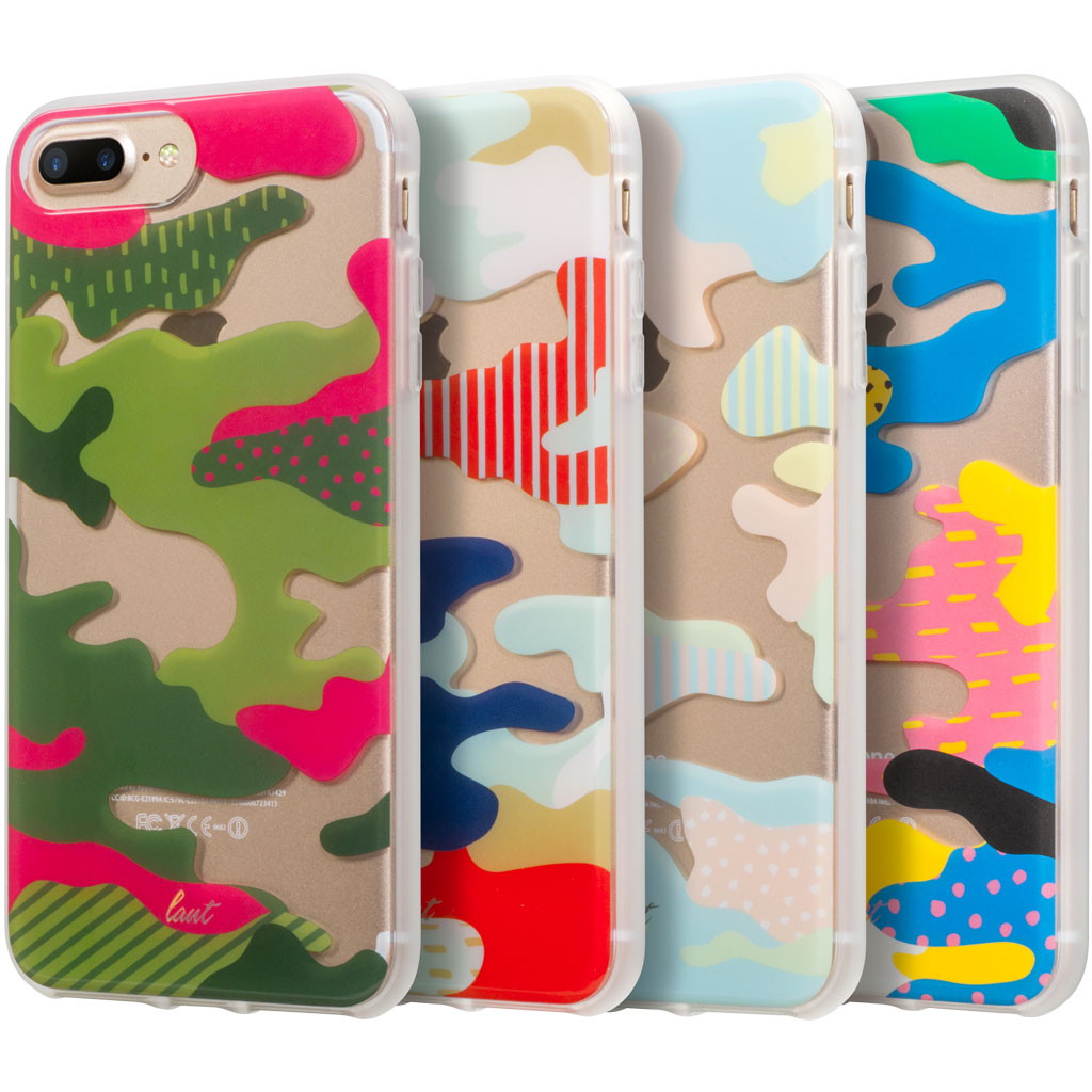 LAUT-POP-CAMO for iPhone 8/7/6s/6 Plus-Case-For iPhone 8/7/6s/6 Plus