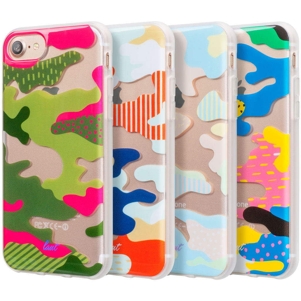 LAUT-POP-CAMO for iPhone 8/7/6s/6-Case-For iPhone 8/7/6s/6