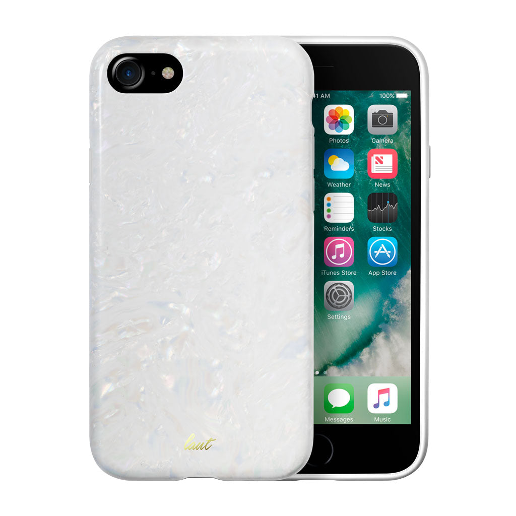 LAUT-POP ARCTIC PEARL for iPhone 8/7/6s/6-Case-For iPhone 8/7/6s/6