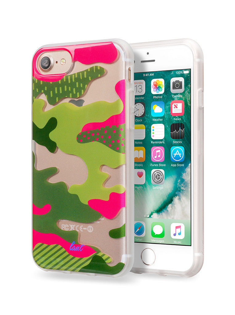 LAUT-POP-CAMO-Case-For iPhone 7 & iPhone 6s/6