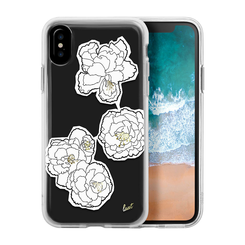 LAUT-POP MONO BLOOMS for iPhone X-Case-For iPhone X