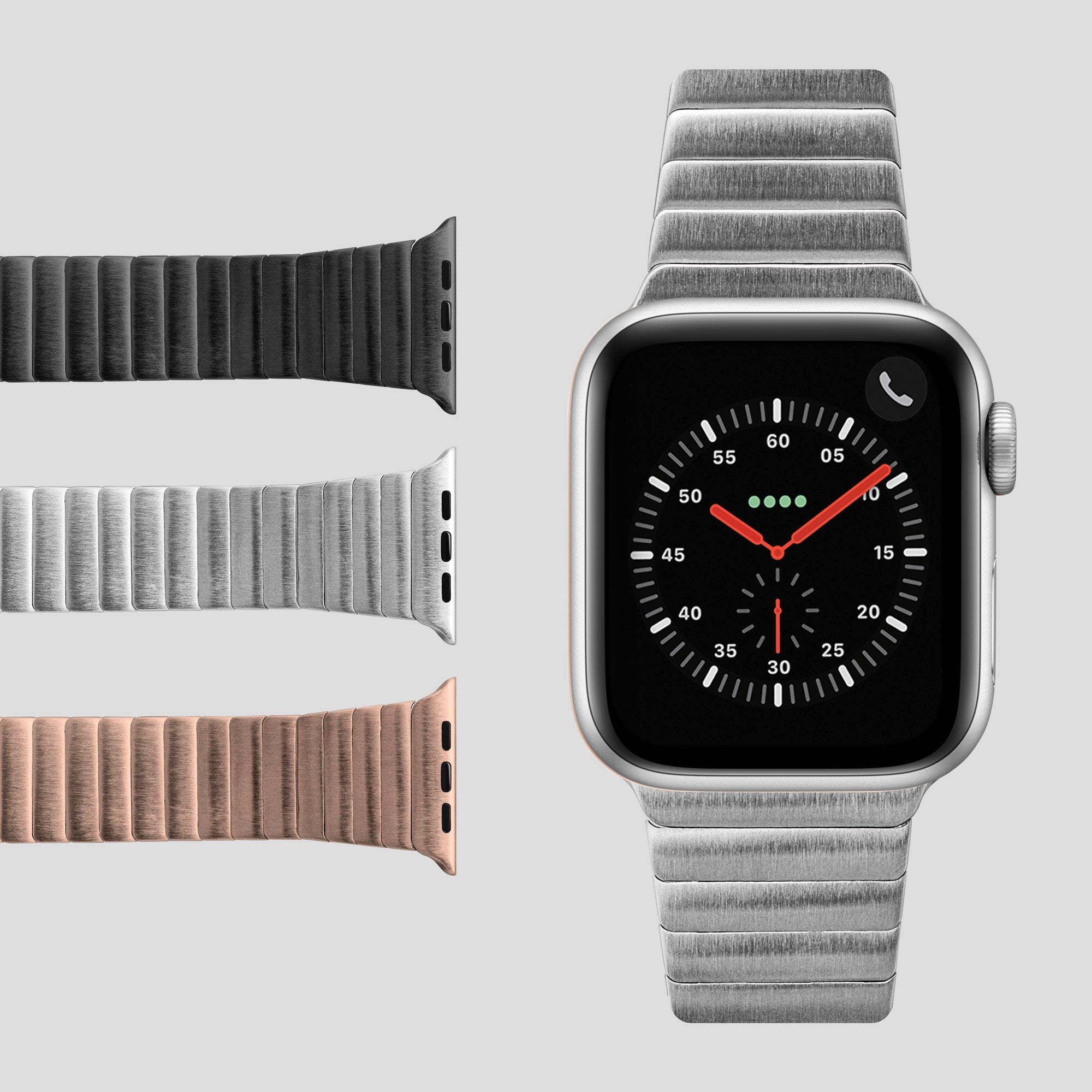 LINKS Watch Strap for Apple Watch Series 1-6 & SE