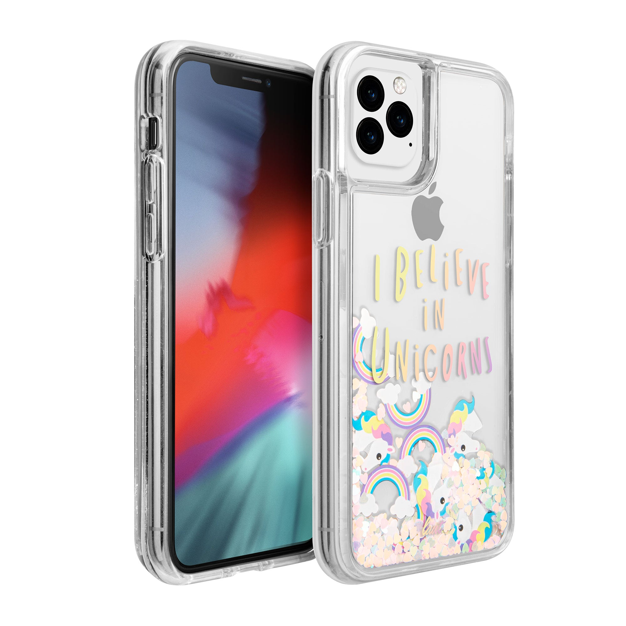 LAUT-GLITTER UNICORNS for iPhone 11 | iPhone 11 Pro | iPhone 11 Pro Max-Case-iPhone 11 / iPhone 11 Pro / iPhone 11 Pro Max