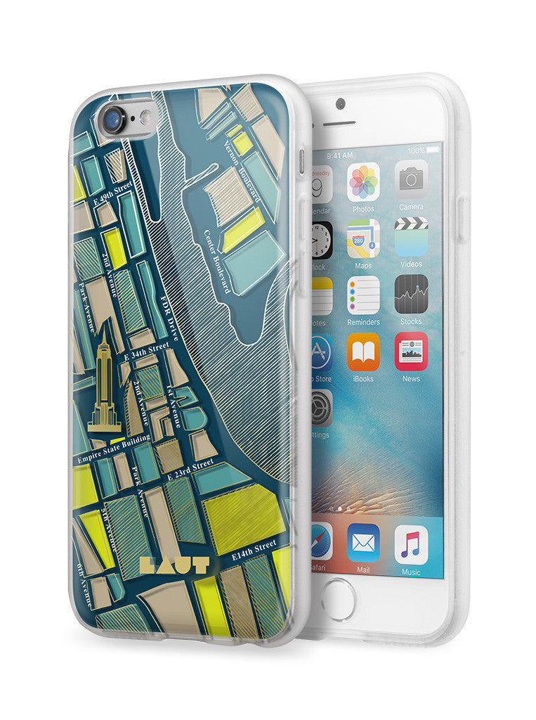 LAUT-NOMAD New York-Case-For iPhone 6 Plus series