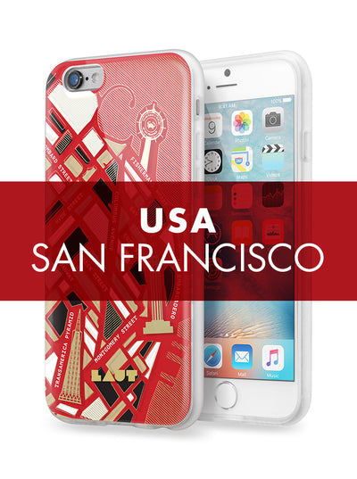 LAUT-NOMAD San Francisco-Case-For iPhone 6 series