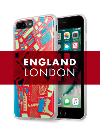 LAUT-NOMAD London-Case-For iPhone 7 Plus series