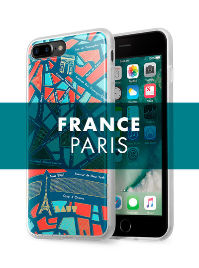 LAUT-NOMAD Paris-Case-For iPhone 8 Plus