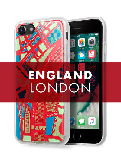 LAUT-NOMAD London-Case-For iPhone 8