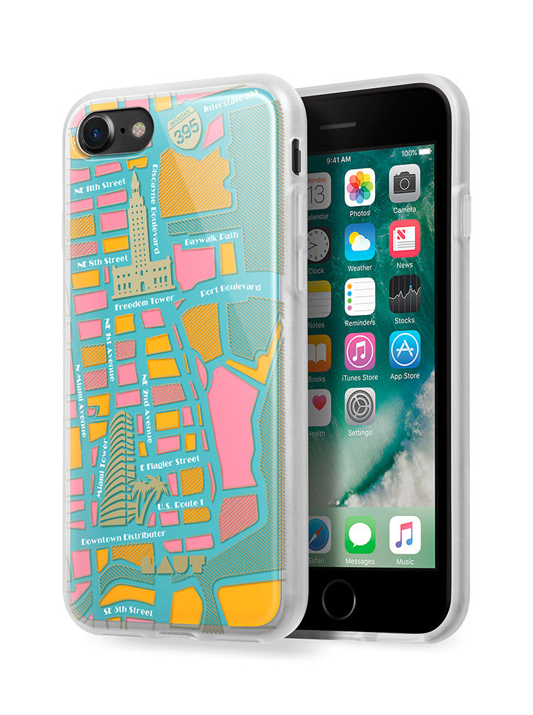 LAUT-NOMAD Miami-Case-For iPhone 8