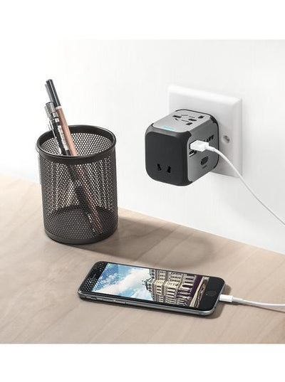 LAUT-WORLD ADAPTER-Power-For Smartphone & Tablet