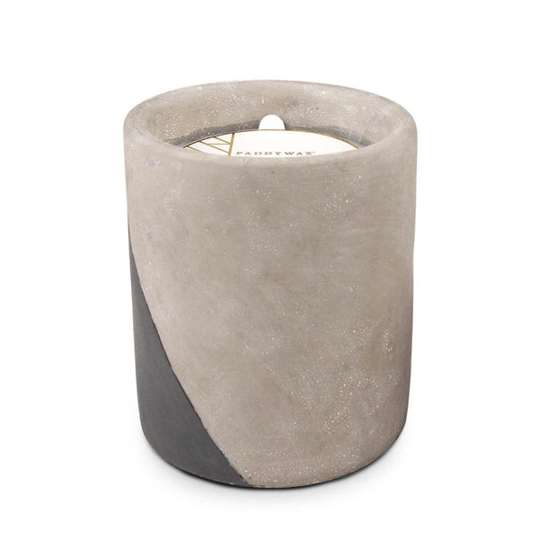 Concrete scented candle 'fig & olive' LARGE