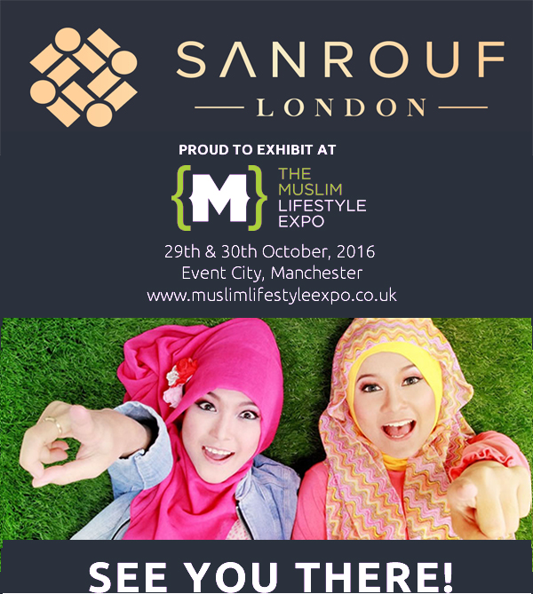 SANROUF LONDON @ MUSLIM LIFESTYLE EXPO 2016