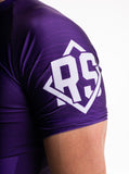 Purple Short Sleeve Rashguard
