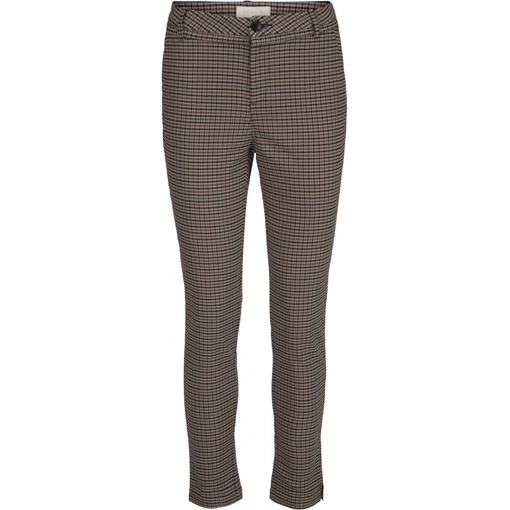 Minus New Carma check 7/8 pants Pants 9275 Chocolate checked