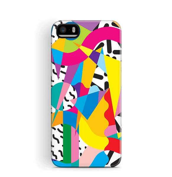 Wacky 90s Shirt iPhone 5 5S SE Case Tough