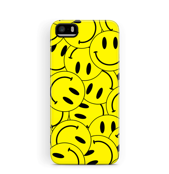 Smiley Face iPhone SE 5S 5 Case Tough