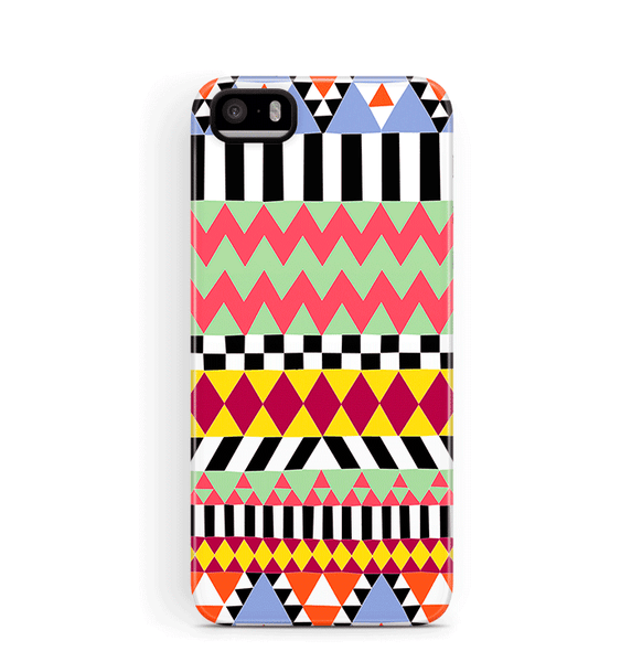 Tribal iPhone 5S 5 SE Case Tough Aztec