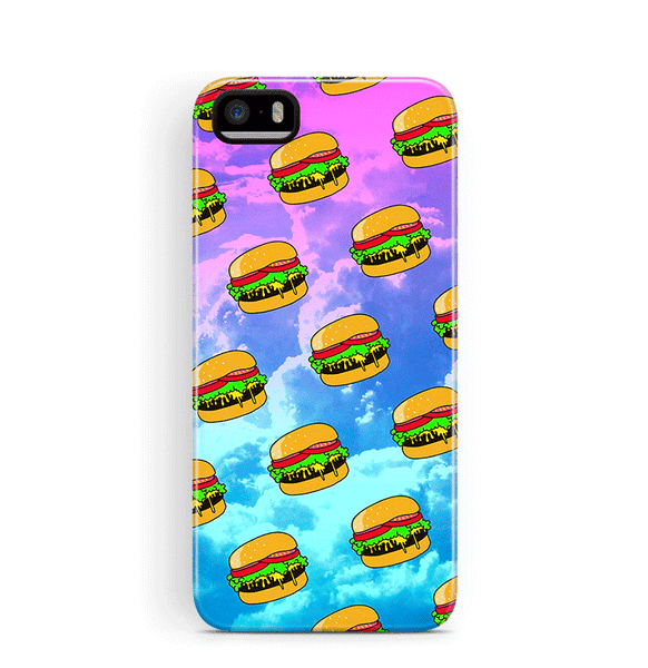 Hamburger iPhone 5 SE 5S Case Tough Food
