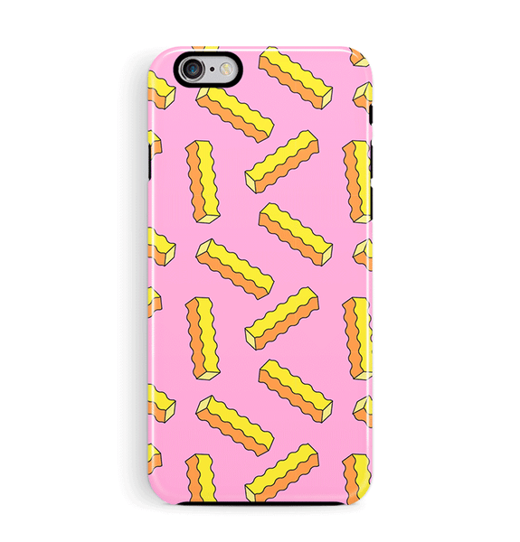Crinkle Cut Chips iPhone 6 6S Case Tough
